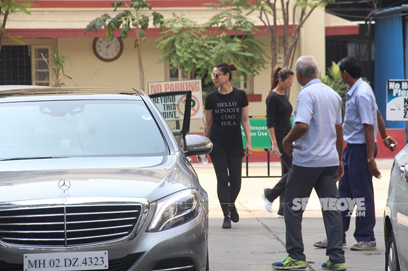 kareena amrita are often spotted in the gym together