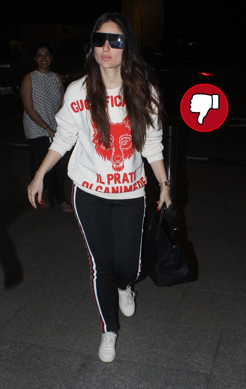 kareena kapoor at airport