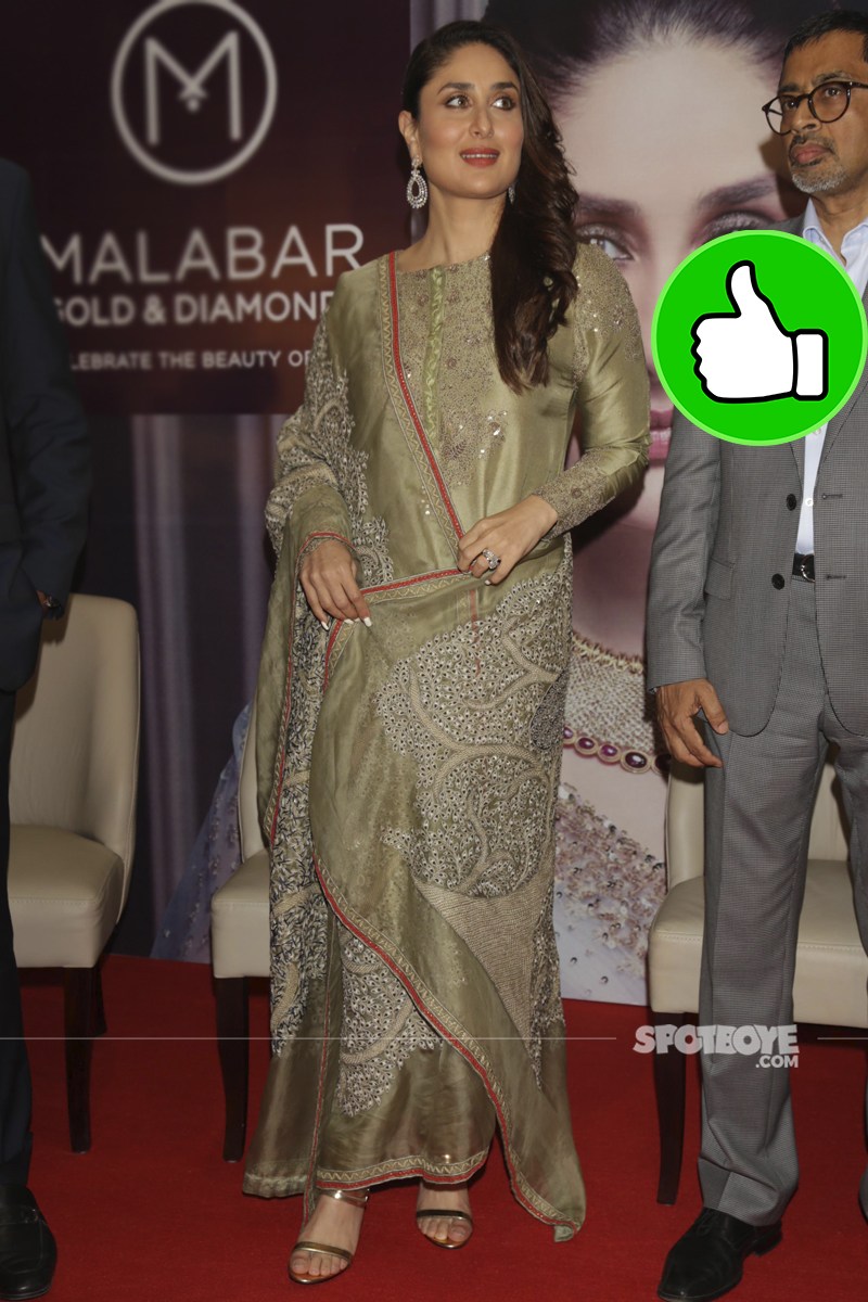 kareena kapoor at malabar gold outlet launch