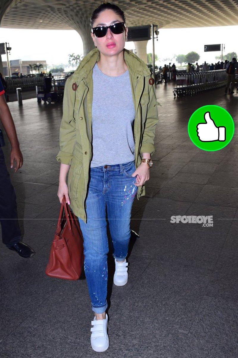 kareena kapoor at the airport
