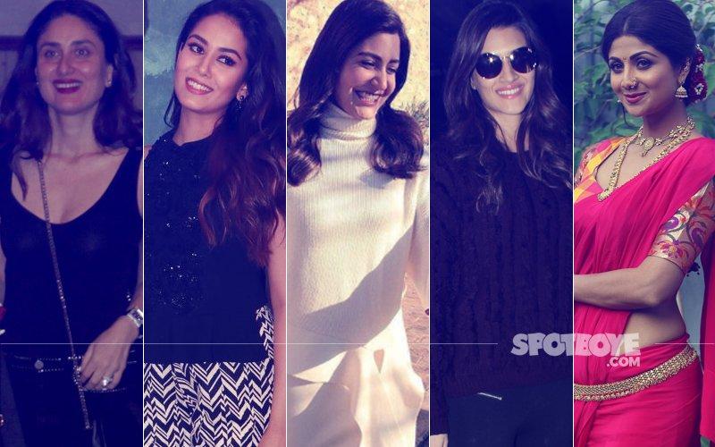 STUNNER OR BUMMER: Kareena Kapoor, Mira Rajput, Anushka Sharma, Kriti Sanon Or Shilpa Shetty?