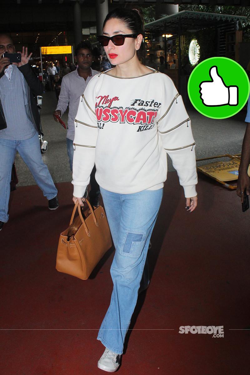 kareena kapoor snapped at the airport