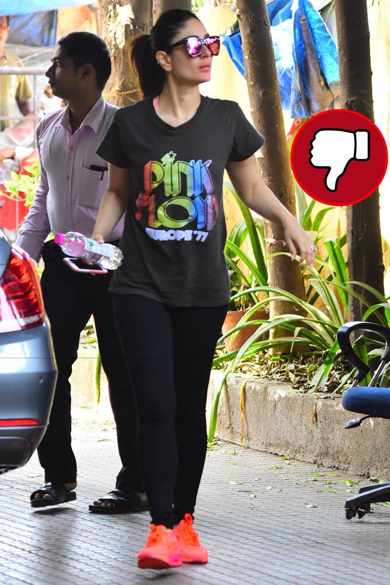 kareena kapoor snapped post gym session