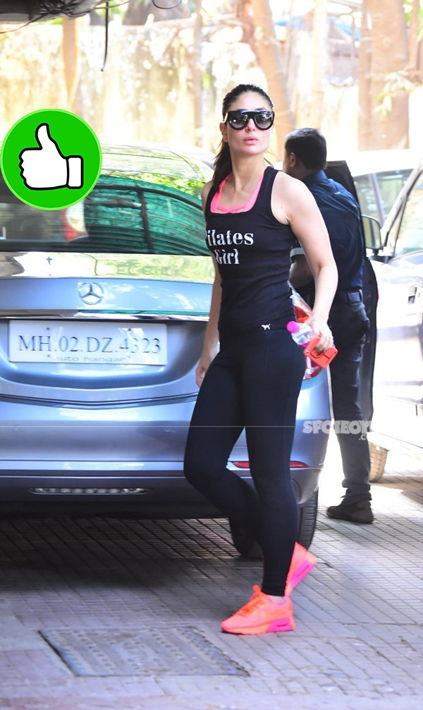 kareena kapoor snapped post gym session
