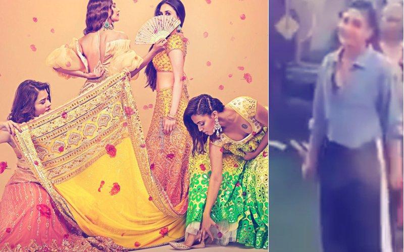 LEAKED VIDEO! Kareena Kapoor, Sonam Kapoor & Sumeet Vyaas Shoot For A Dance Sequence For Veere Di Wedding