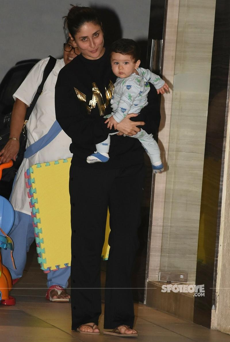 kareena kapoor with baby taimur