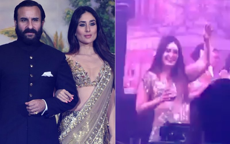 Must Watch: Kareena Kapoor Brings The House Down Dancing To Hubby Saif's Ole Ole