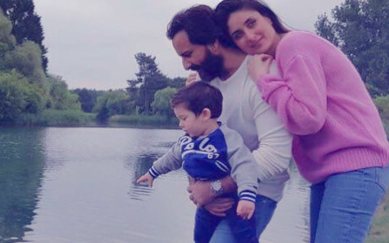 This Pic Of Kareena, Saif & Taimur At Hyde Park Looks Straight Out Of A Yash Chopra Film