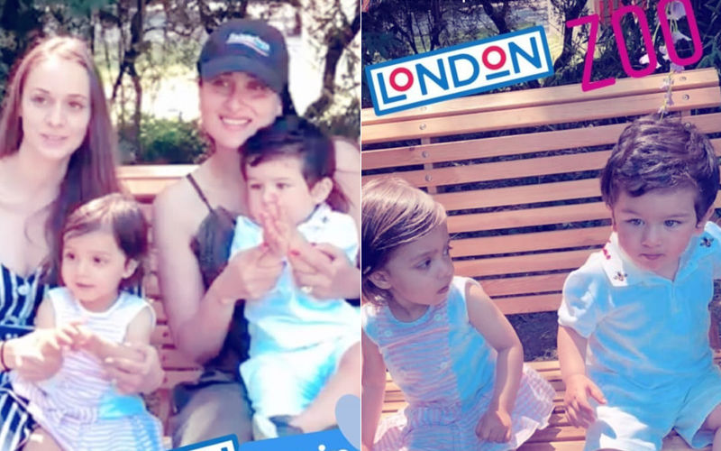 Taimur's Zoo Date With Mommy Kareena Kapoor & A Little Princess