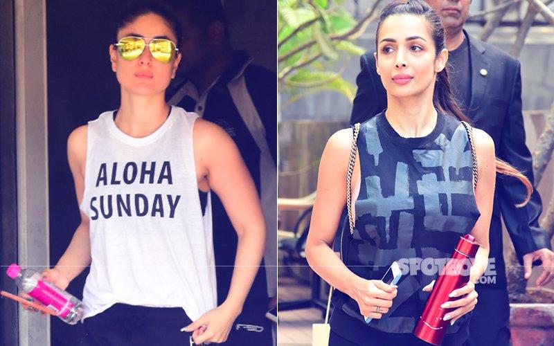 Pics Kareena Kapoor Amp Malaika Arora S Mid Week Workout