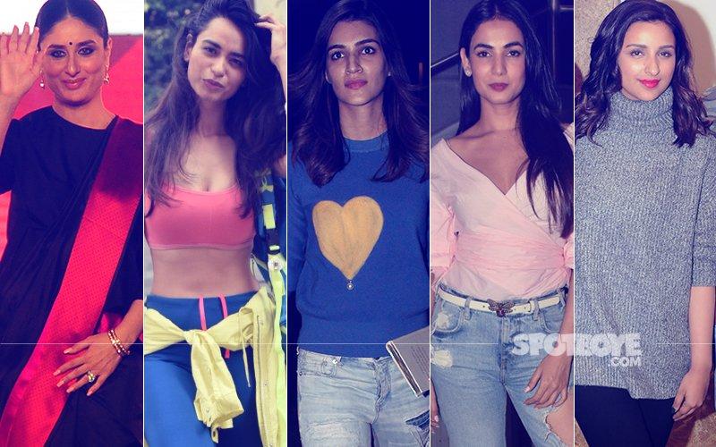 STUNNER OR BUMMER: Kareena Kapoor, Soundarya Sharma, Kriti Sanon, Sonal Chauhan Or Parineeti Chopra?