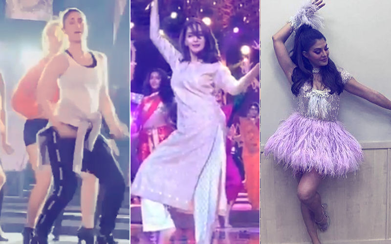 Videos: Kareena Kapoor, Madhuri Dixit & Jacqueline Fernandez Rehearse Hard For Femina Miss India 2018 Finale