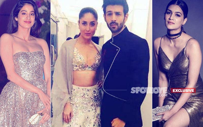 Kareena Kapoor & Kartik Aryan In KJo's Film, Janhvi Kapoor Or Kriti Sanon Likely To Join