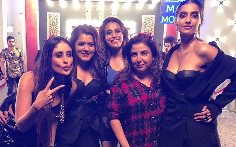 Inside Pics, Veere Di Wedding: Kareena, Sonam, Swara, Shikha Have A Blast With Farah Khan