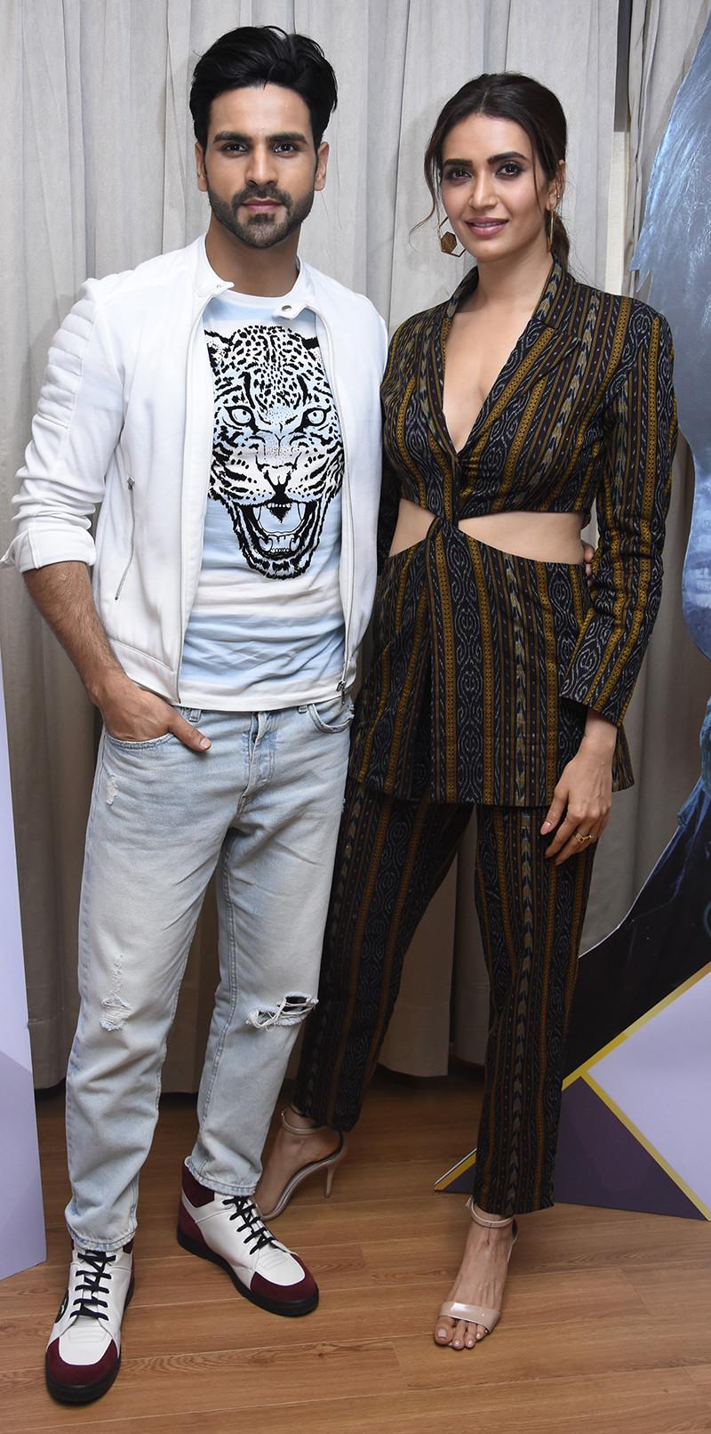karishma Tanna With Vivek Dahiya