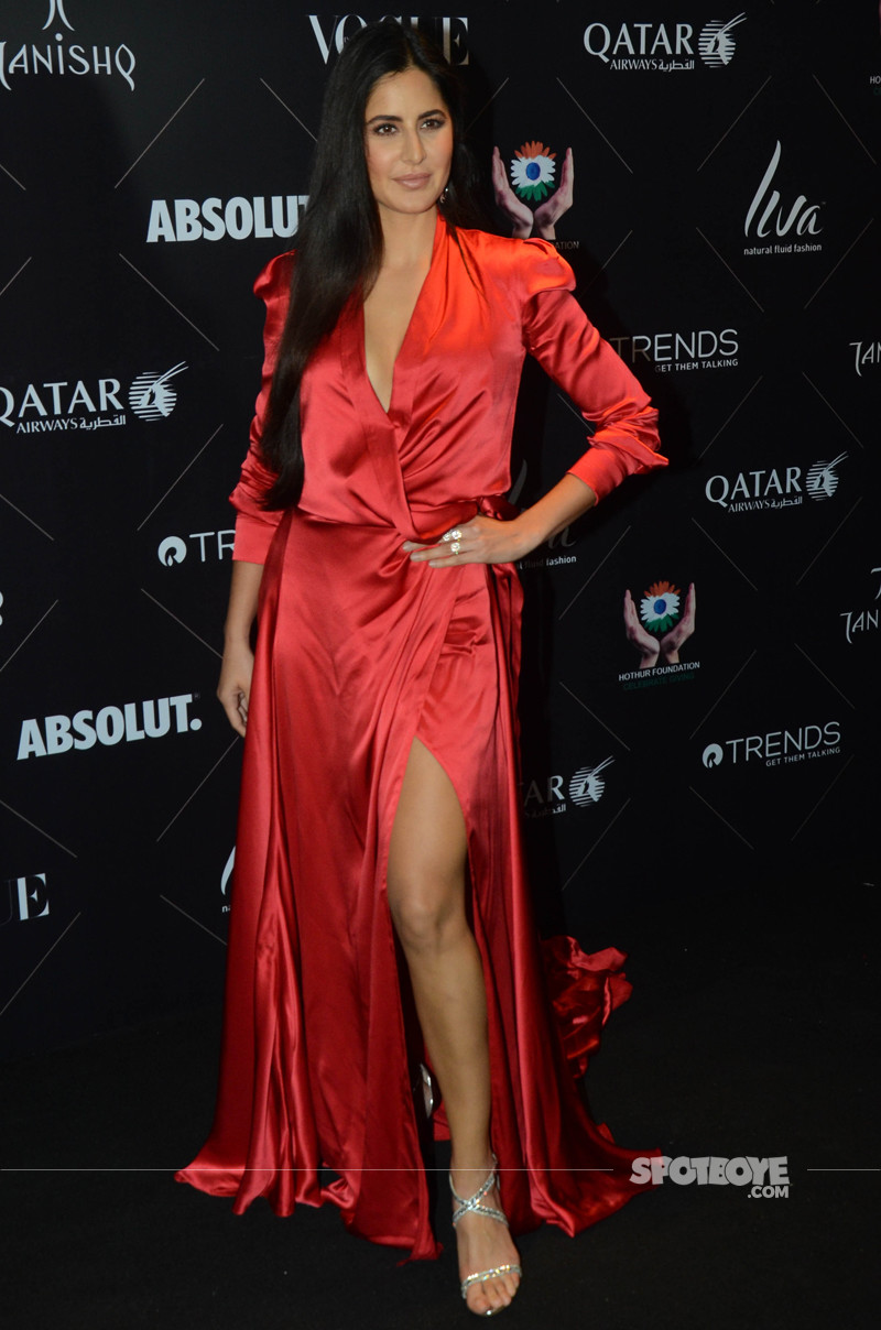 katrina kaif at vogue beauty awards 2018