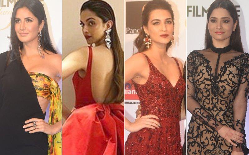 katrina kaif deepika padukone kriti sanon and ankita lokhande at filmfare glamour and style awards