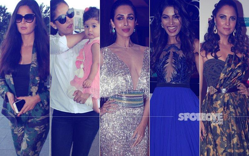 STUNNER OR BUMMER: Katrina Kaif, Mira Rajput, Malaika Arora, Lopamudra Raut Or Lara Dutta?