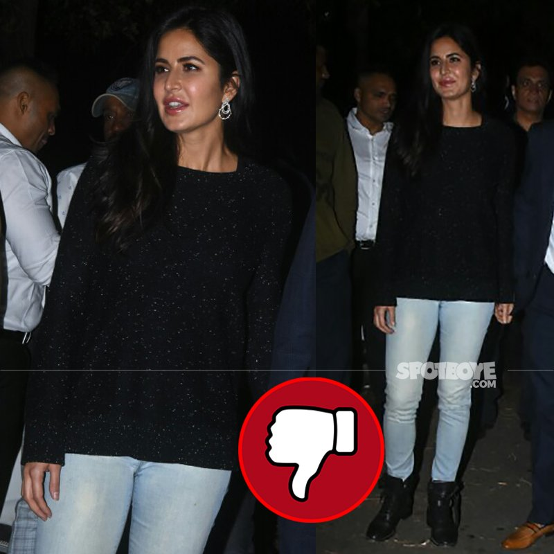katrina kaif snapped at salman khans birthday bash at his farm house panvel