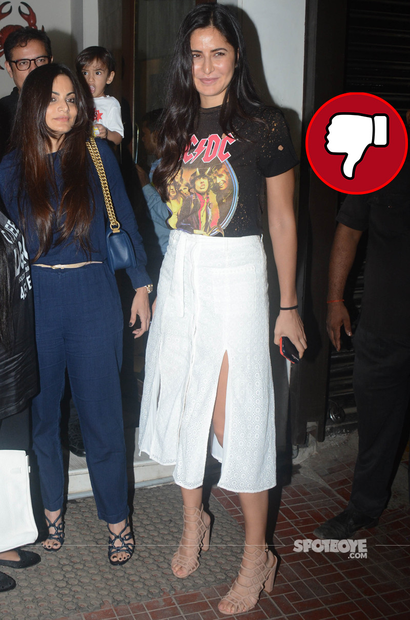 katrina kaif snapped post dinner