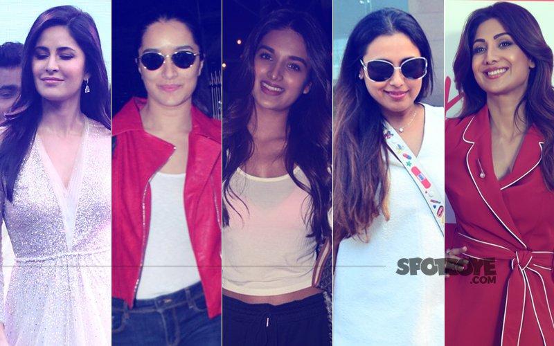 STUNNER OR BUMMER: Katrina Kaif, Shraddha Kapoor, Nidhhi Agerwal, Rani Mukerji Or Shilpa Shetty?
