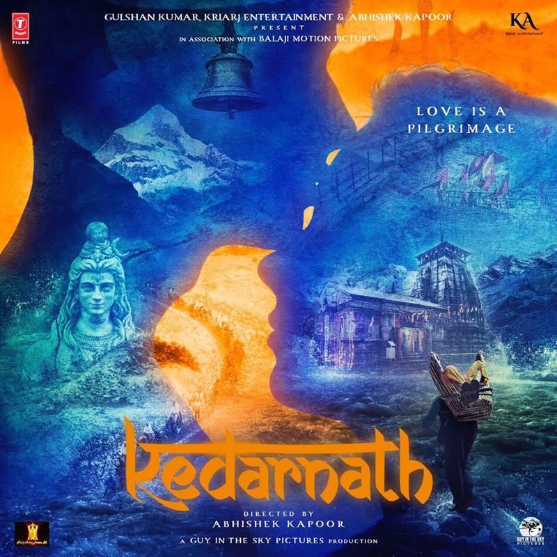 kedarnath poster