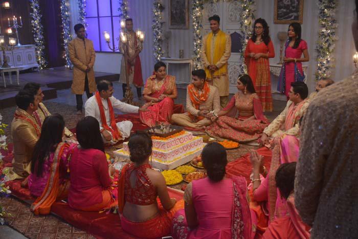 keerti and nakshs wedding ceremony in yeh rishta kya kehlata hai
