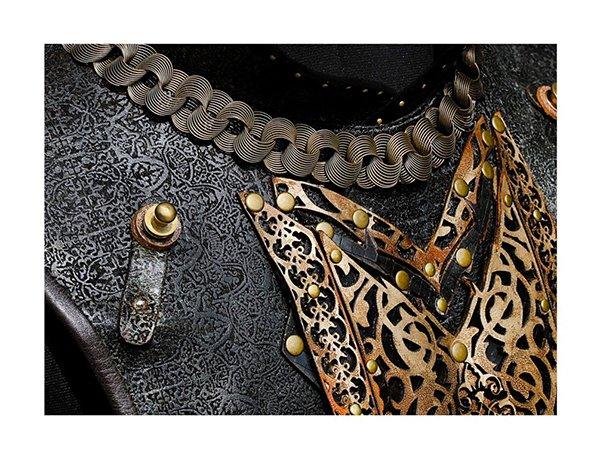 khilji chest plate armour