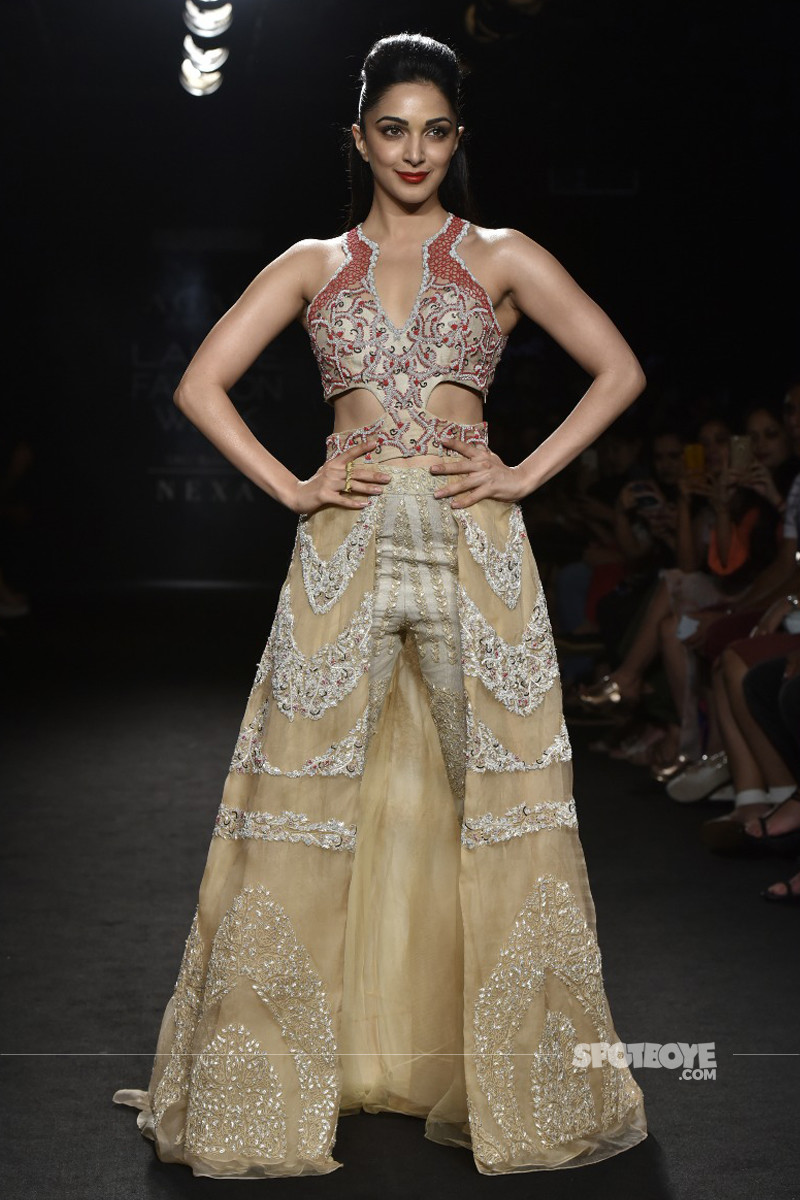 kiara advani at lakme fashion week 2018