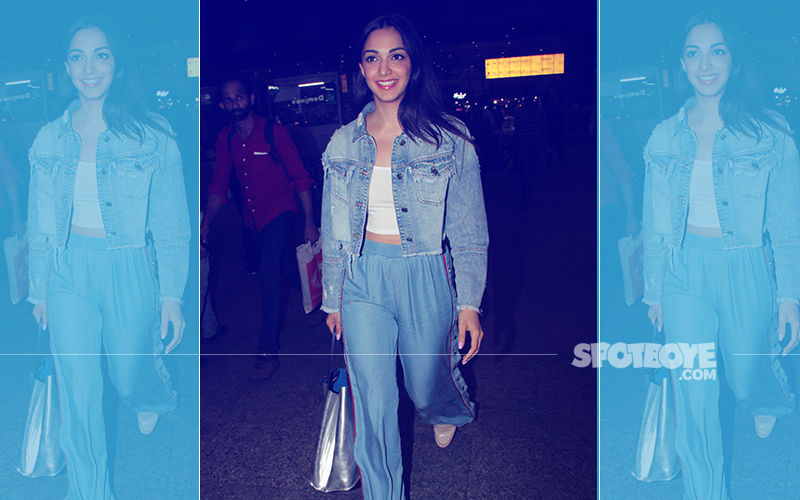 Kiara Advani Is All Smiles As She Gets Clicked At The Airport