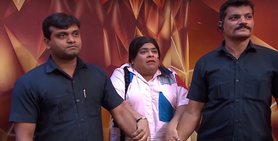 kiku sharda in family time with kapil