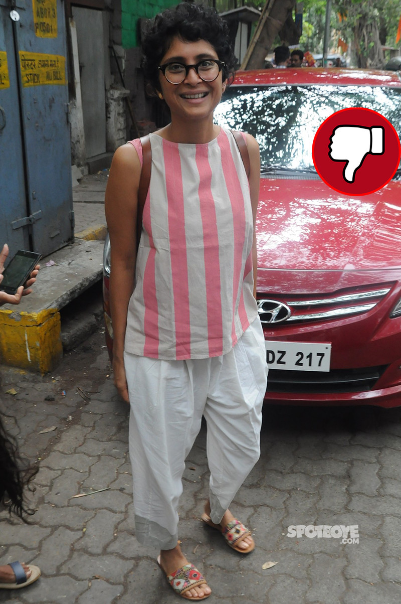 kiran rao snapped in bandra