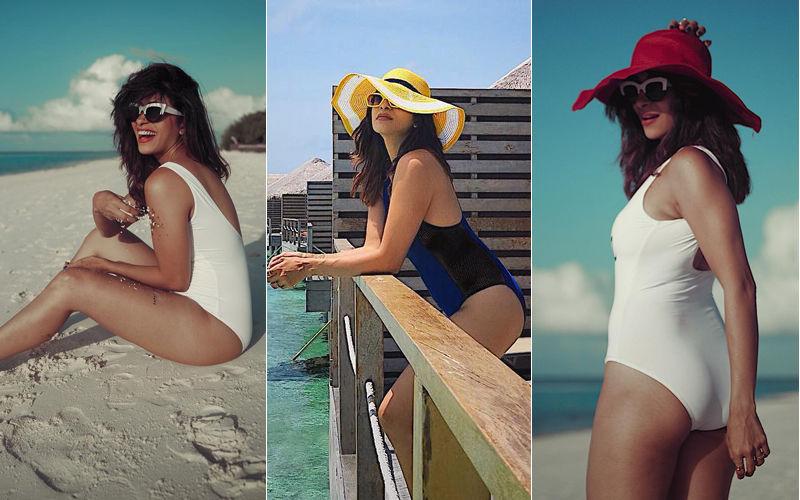 9 Sizzling Shots Of Beach Goddess Kishwer Merchant From Maldives