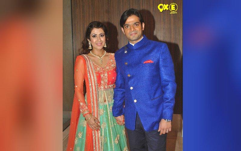 Karan Patel And Ankita Bhargava Wedding Reception