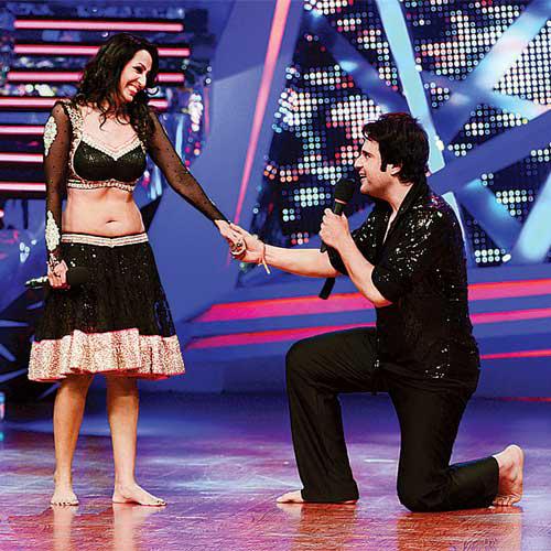 krishna abhishek proposing to kashmeera shah
