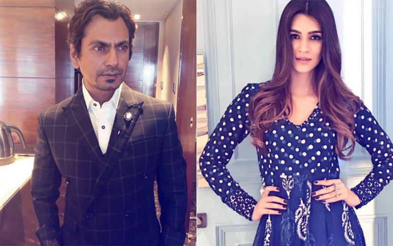 Kriti Sanon Will Not Romance Nawazuddin Siddiqui Onscreen