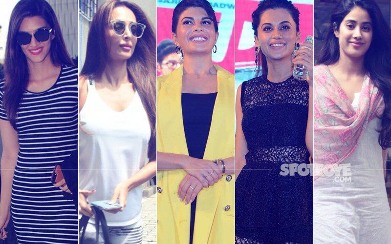 STUNNER OR BUMMER: Kriti Sanon, Malaika Arora, Jacqueline Fernandez, Taapsee Pannu Or Jhanvi Kapoor?