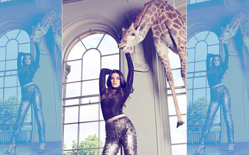 Kriti Sanon's Reply On Being Slammed For Posing With A Giraffe