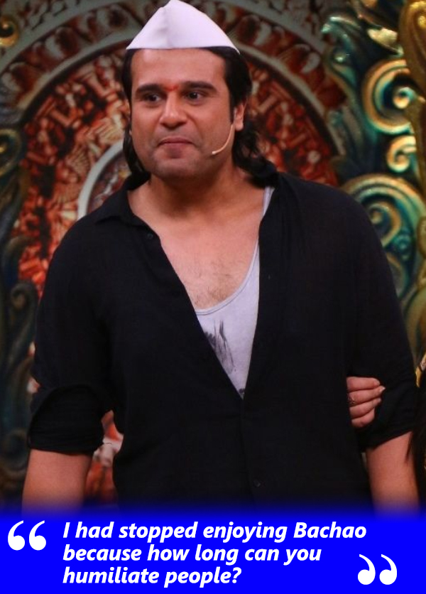 krushna in comedy nights bachao