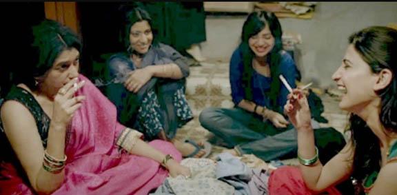 ladies in lipstick under my burkha