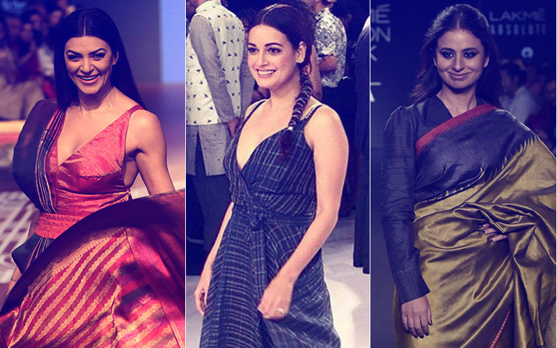 Lakme Fashion Week 2018, Day 2: Sushmita Sen, Dia Mirza, Rasika Dugal Strut The Ramp