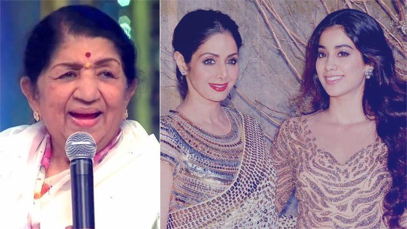 फिल्म 'धड़क' की रिलीज के बाद जान्हवी को मिली सबसे बड़ी तारीफ, लता मंगेशकर ने कही ये बात