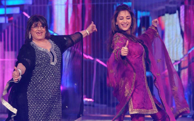 Madhuri Dixit Is Back With Saroj Khan After 4 Years For Kalank