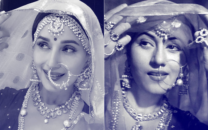 Madhuri Dixit Is A Spitting Image Of Madhubala From Mughal-E-Azam, View Pics