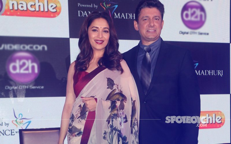 WATCH: Madhuri Dixit Escapes An Oops Moment At A Recent Event