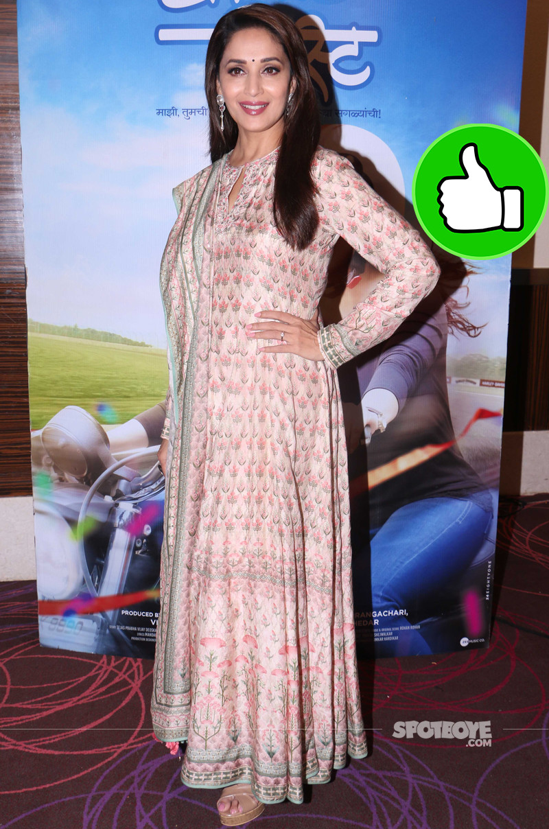 madhuri dixit promotes her upcoming movie