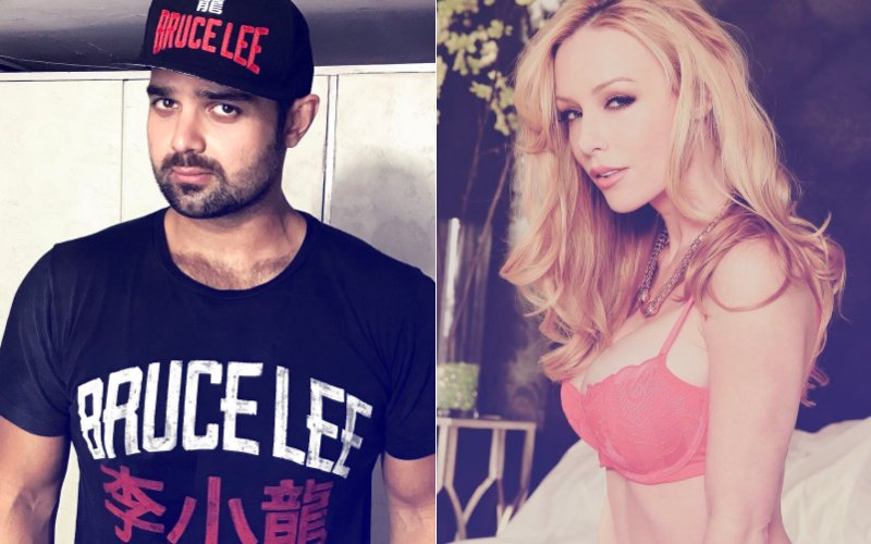 What Is Mithun Chakraborty's Son Mahaakshay Doing With This American Adult Film Actress?