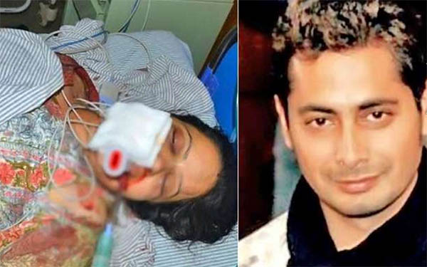 mahima chaudharys cousin brother surya pratap singh and his wife aanchal killed in a car crash