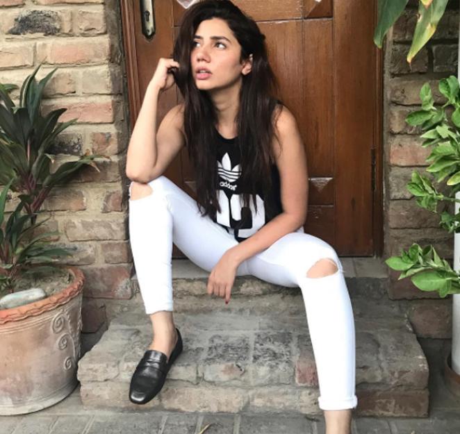 mahira khan poses for a photoshoot