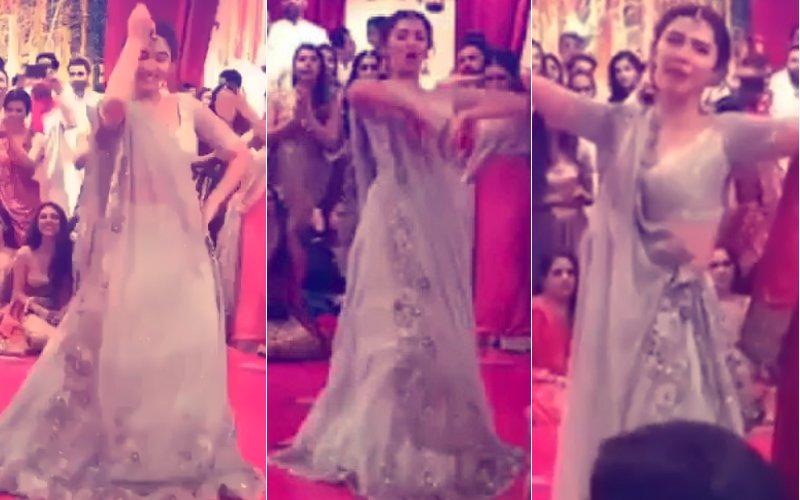 Watch: Mahira Khan's Killer Bollywood Thumkas At A Friend's Wedding
